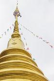 Thai temple in Chiang mai ,Thailand — Stock Photo