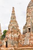 Wat Chaiwatthanaram , Ayutthaya  Thailand — Stock Photo