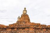 Wat Chaiwatthanaram, Ayutthaya, Tajlandia — Zdjęcie stockowe