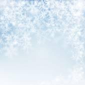 Snowflake texture, decorative winter background — Stock Photo