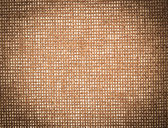 Vintage sack brown canvas ecological textured — Stock Photo
