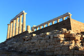 Temple of Poseidon, Cape Sounion, Greece — Stock Photo