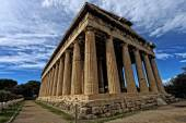 Temple of Hephaestus in Ancient Agora, Athens, Greece — Stock Photo
