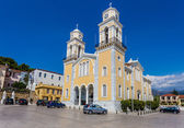 Main Cathedral in Klamata, Peloponnes, Greece — Stock Photo