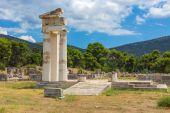 Ruins of Asclepeion, Argolida, Greece — Stock Photo