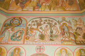 Frescoes in the Church of the Trinity (Trinity Skete village, Nizhny Novgorod region) — Stock Photo