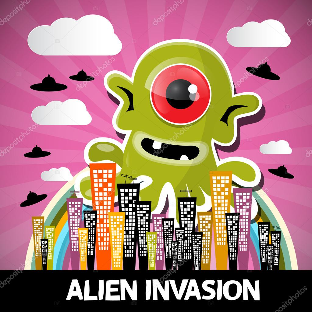 Monster invasion cartoon 3d nude gallery
