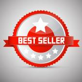 Best Seller Tag — Stock Vector