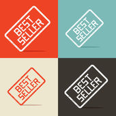 Best Seller Vector Backgrounds — Stock Vector