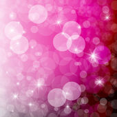 抽象矢量粉红色模糊散景背景 — 图库矢量图片