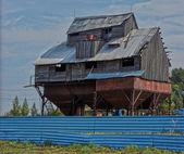 Old farm buildings . — Stock Photo