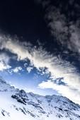 Alps, France, ski resort of Val Thorens — Stock Photo