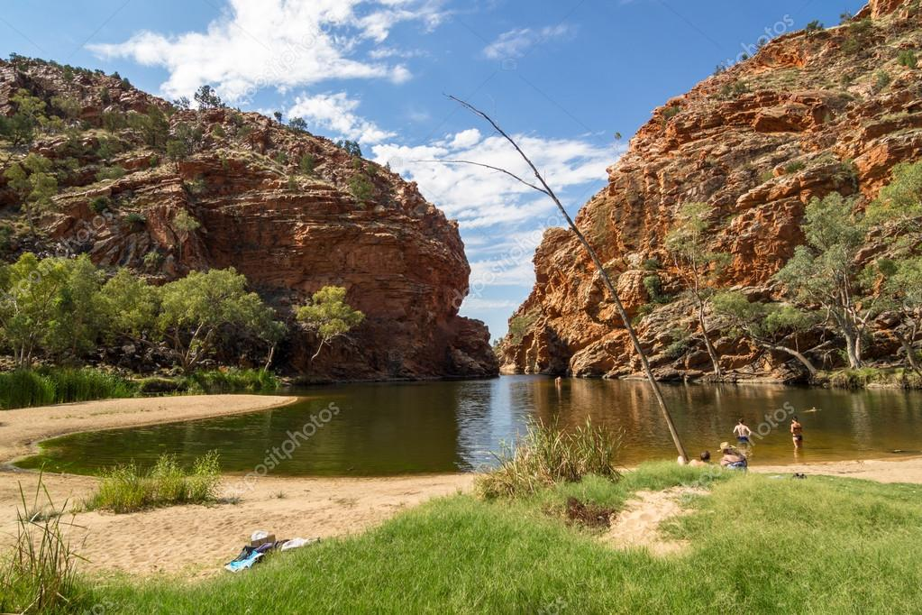 Alice Springs - the third largest town in the Northern