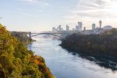 Tęczowy Most w Niagara Falls, Stany Zjednoczone Ameryki — Zdjęcie stockowe