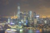 Hong Kong city — Stockfoto