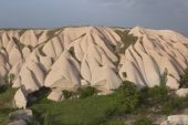 Cappadocia landscape, Turkey — Stock Photo