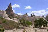 Cappadocia landscape, Turkey — Stock Photo