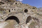 Cavusin old house in Cappadocia, Turkey — Stock Photo