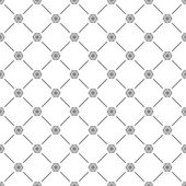 Seamless simple pattern with snowflakes — Vector de stock