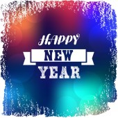 Happy new year greeting card — Stock Vector