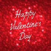 Happy Valentines Day Vector Illustration — Stock Vector
