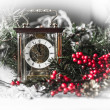 Christmas composition with the Coach watches — Stock Photo #57548079
