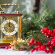 Christmas composition with the Coach watches — Stock Photo #57548087
