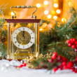 Christmas composition with the Coach watches — Stock Photo #57548089