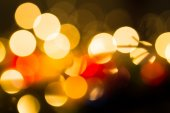 Bulanık renkli ışıklar — Stok fotoğraf