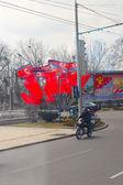 North Korea, Pyongyang, April 2012 - the lives of ordinary peopl — Photo