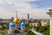 Russia, Moscow, May 2013 - View of Moscow from the bell tower of — Stock Photo