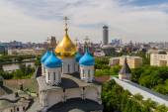 Ryssland, Moskva, kan 2013 - Visa av Moscow från klocktornet av — Stockfoto