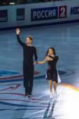 Russia, Moscow, Luzhniki Grand Prix Russian Figure Skating Roste — Stock Photo