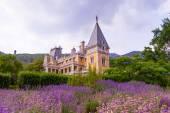 Massandra Palace, Massandra, Yalta, Crimea, Gurzuf, Russian, Got — Stock Photo
