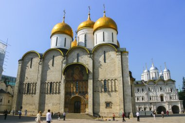 Russia, Moscow, 23 May 2011 - the Kremlin, the Cathedral of the