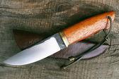 Hunting knife — Stock Photo