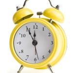 Five minutes to twelve on alarm clock — Stock Photo #53218971