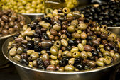 Different olive fruits — Stockfoto