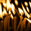 Candles in catholic church — Stock Photo #57861761
