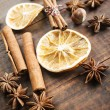 Spices for mulled wine — Stock Photo #60110889