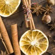 Spices for mulled wine — Stock Photo #60359413