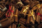Cinnamon bundles — Stock Photo