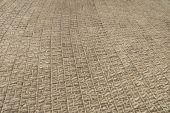 Tiled pavement background — Stock Photo
