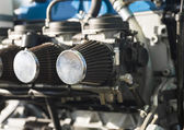 Hang glider engine — Stock Photo