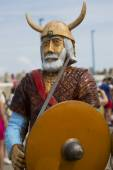 The portrait of the Viking — Stock Photo