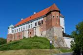 Castle in Sandomierz in Poland — Stock Photo