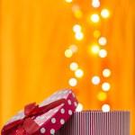 Gift box shaped heart — Stock Photo #52779349