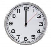 12 o'clock — Zdjęcie stockowe