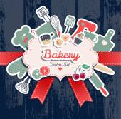 Bakery and sweets — Stock vektor