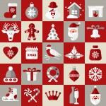 Christmas design icons set — Stock Vector #55704385